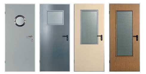 наружные металлические двери для общественных зданий